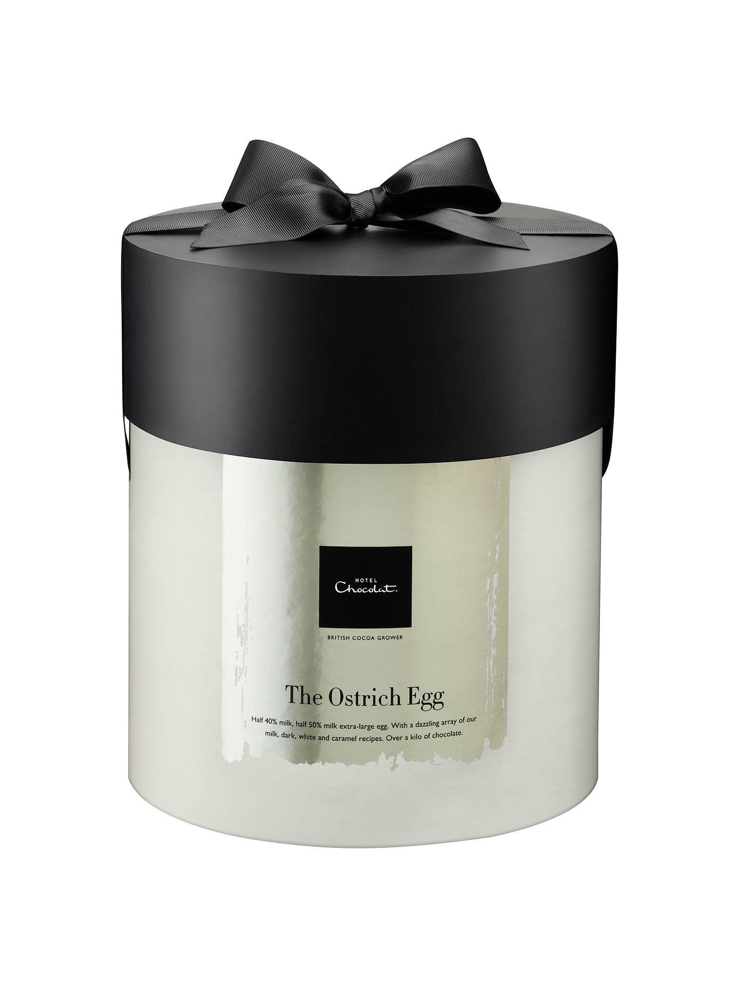 Buy Hotel Chocolat 'The Ostrich Egg' Milk Chocolate Easter Egg, 1.1kg Online at johnlewis.com