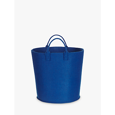 House by John Lewis Felt Storage Bucket