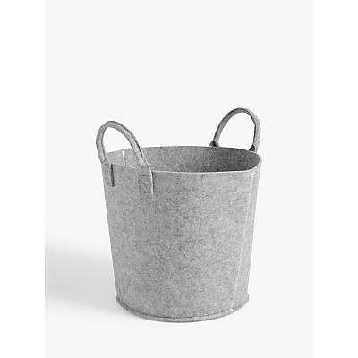 House by John Lewis Felt Storage Bucket