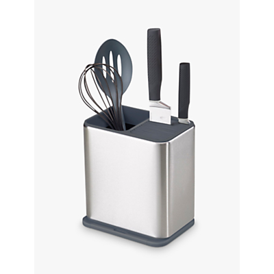 Joseph Joseph Surface Utensil Holder, Stainless Steel