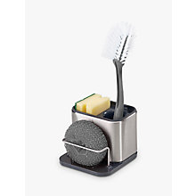 Buy Joseph Joseph Surface Small Sink Tidy, Stainless Steel Online at johnlewis.com
