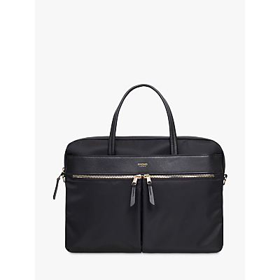 Image of Knomo Hanover Slim Briefcase for 14 Laptops