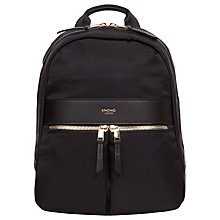 "Buy Knomo Baby Beauchamp Backpack for Tablets up to 10"", Black Online at johnlewis.com"