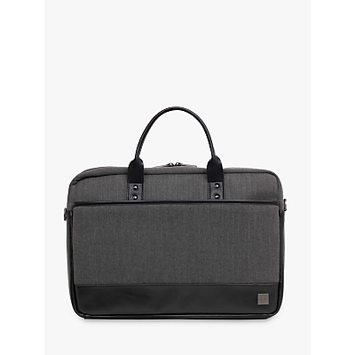 Image of Knomo Princeton Briefcase for 15.6 Laptops, Grey