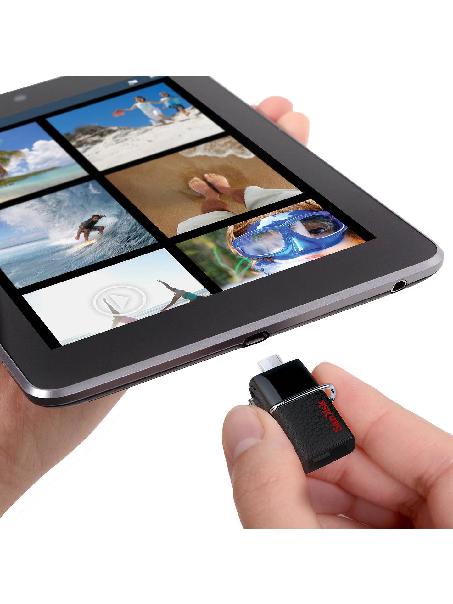 Sandisk Ultra Dual Usb Drive 30 And Micro Flash 32gb At Original Buysandisk Online Johnlewis