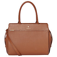 Buy Modalu Berkeley Leather Grab Bag, Tan Online at johnlewis.com