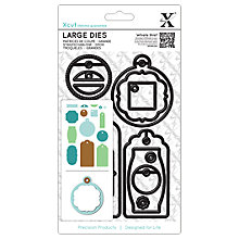 Buy Docrafts Xcut Large Gift Tag Set Dies, Pack of 15 Online at johnlewis.com