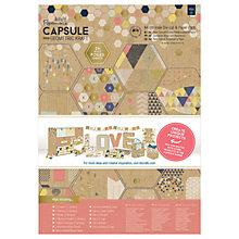 Buy Docrafts A4 Ultimate Die Cut and Paper Kit, Pack of 48, Pastel Online at johnlewis.com