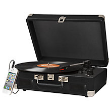 Buy Crosley Cruiser II Turntable With Three Speeds Online at johnlewis.com