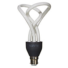 Buy Plumen 15W BC Decorative CFL Bulb, Opal Online at johnlewis.com