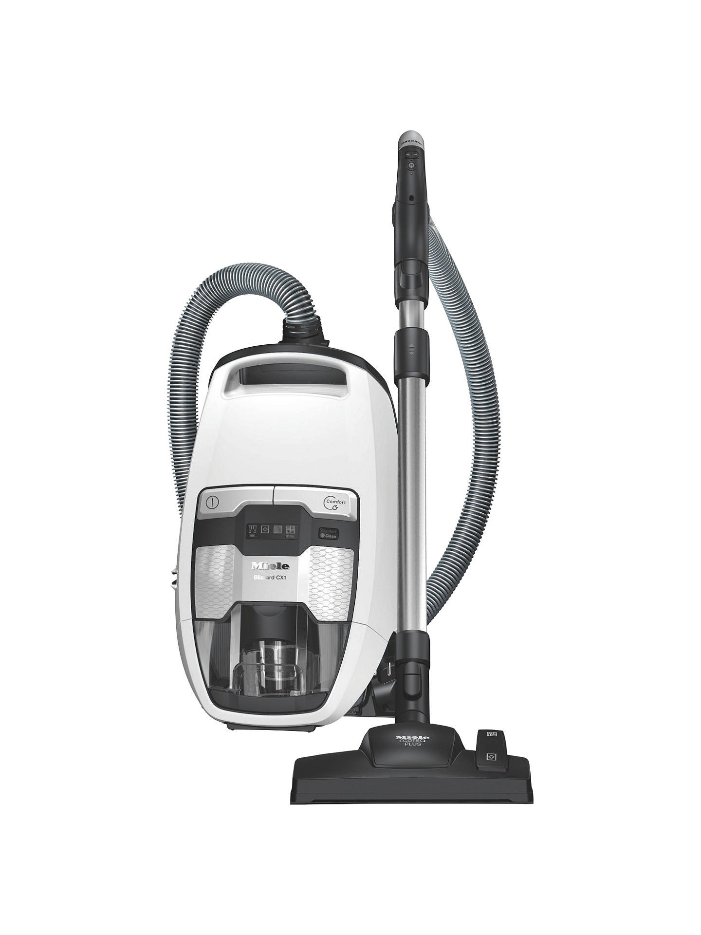 BuyMiele Blizzard CX1 Comfort Excellence Cylinder Vacuum Cleaner, Lotus White Online at johnlewis.com