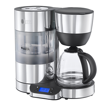Russell Hobbs Purity Filter Coffee Maker, Stainless Steel