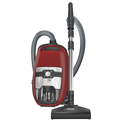 Miele Blizzard CX1 Cat and Dog Cylinder Vacuum Cleaner, Red