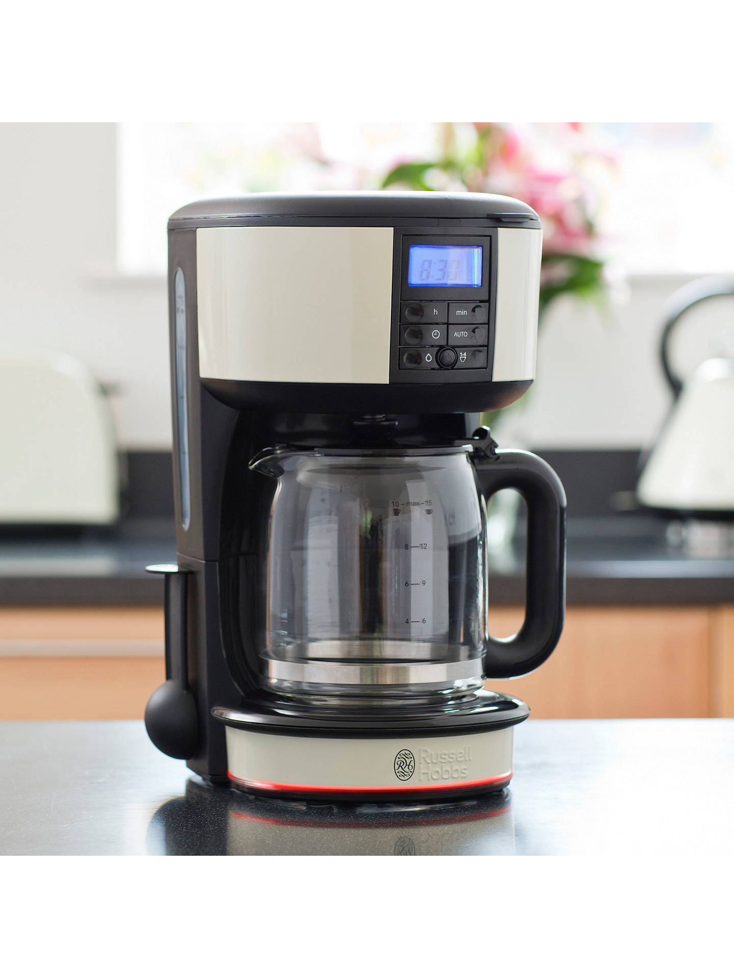 Russell Hobbs Legacy Filter Coffee Maker Cream At John