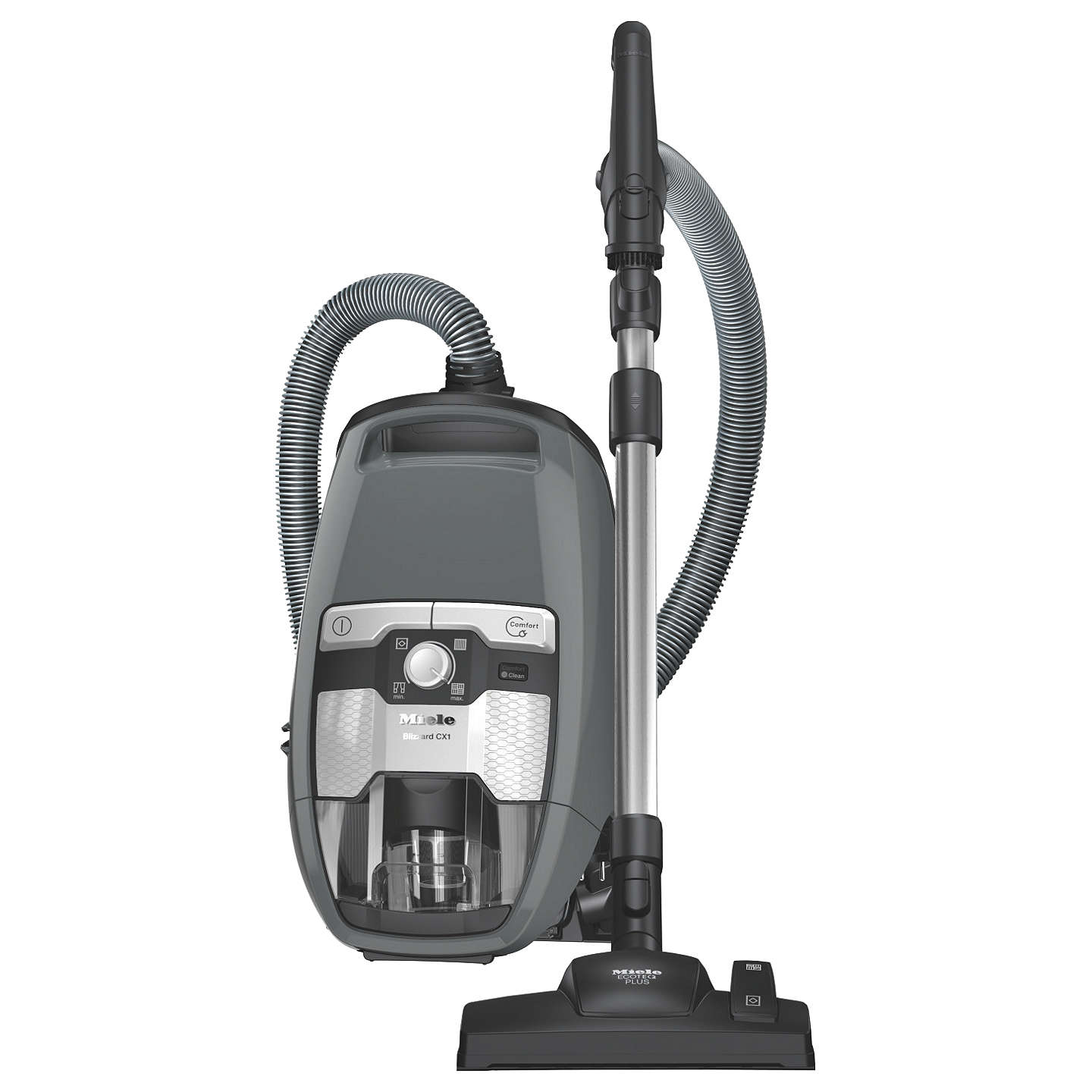 BuyMiele Blizzard CX1 Excellence Cylinder Vacuum Cleaner, Graphite Grey Online at johnlewis.com
