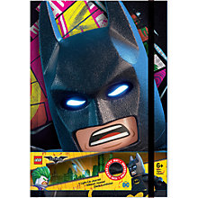 Buy LEGO The LEGO Batman Movie Light Up Journal Online at johnlewis.com