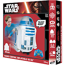 Buy Star Wars Inflatable Remote Control R2-D2 Online at johnlewis.com