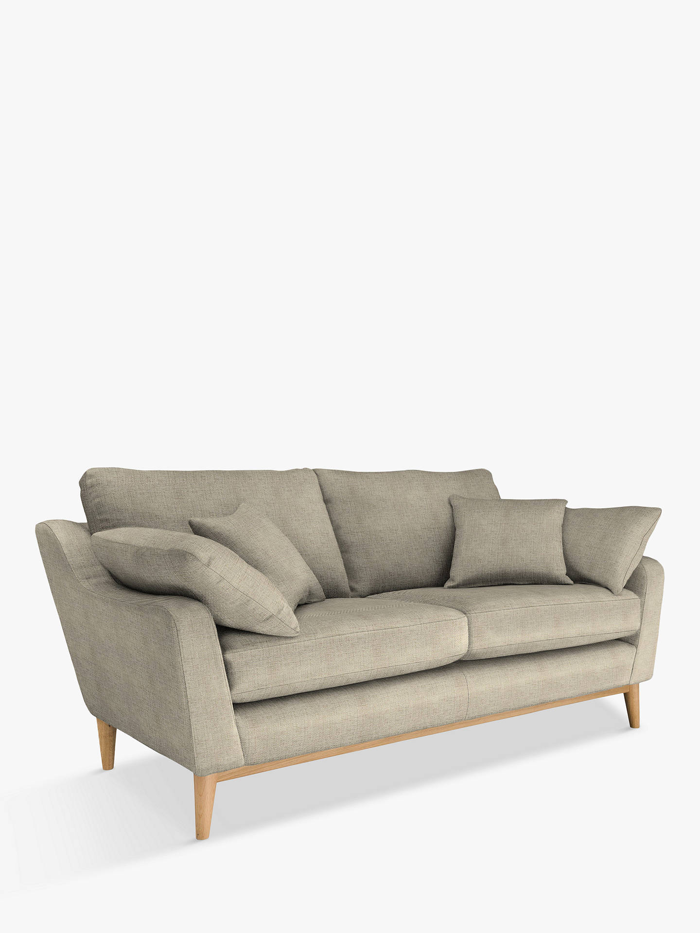 Ercol For John Lewis Nto 3 Seater Sofa Maria Oyster Online At Johnlewis Com
