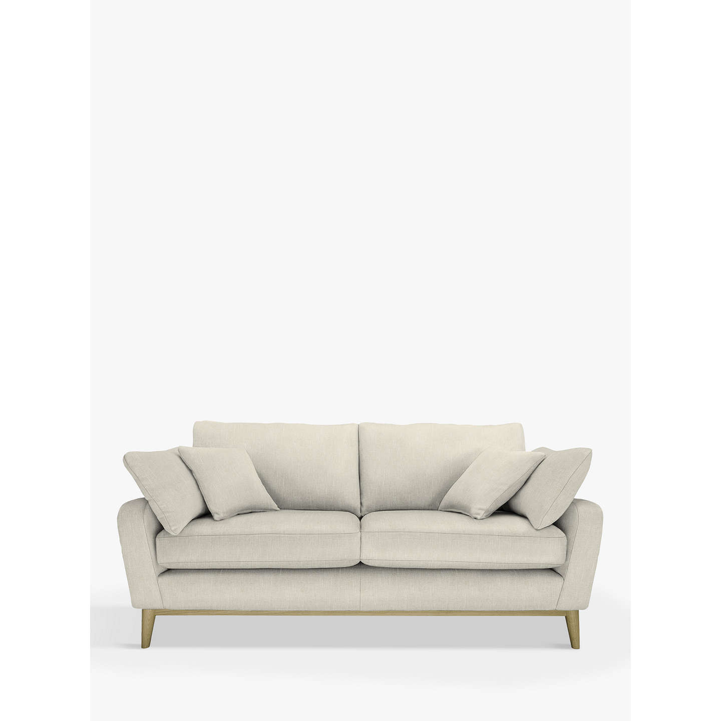 Buyercol for John Lewis Salento 3 Seater Sofa, Vernaldo Driftwood Online at johnlewis.com