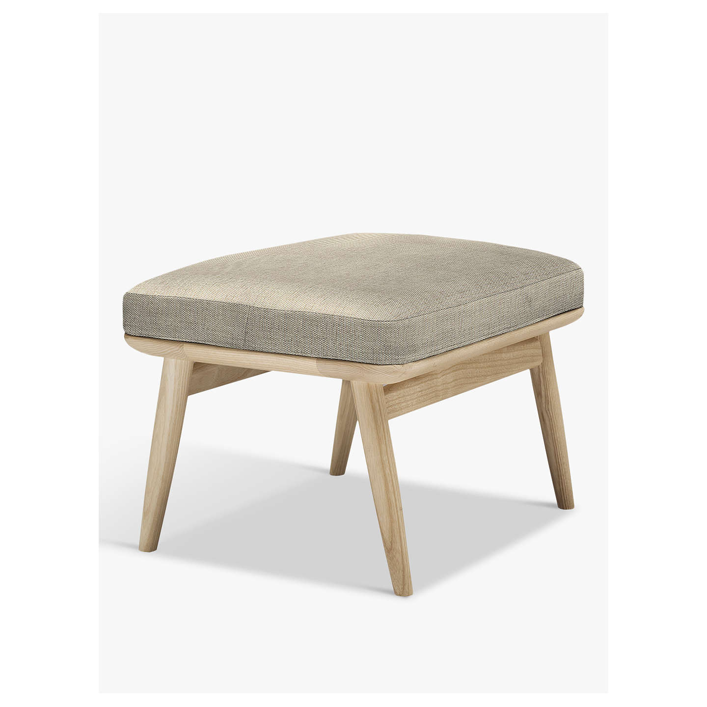 Buyercol for John Lewis Marino Footstool, Maria Oyster Online at johnlewis.com