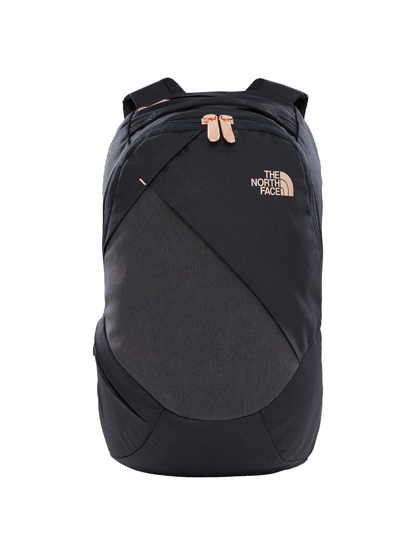 a35942e6d The North Face Electra Women's Backpack, Black/Gold at John Lewis ...