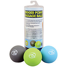 Buy Yoga-Mad Trigger Point Massage Ball Set, Multi Online at johnlewis.com