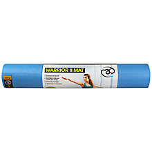 Buy Yoga-Mad Warrior II 6mm Yoga Mat, Blue Online at johnlewis.com