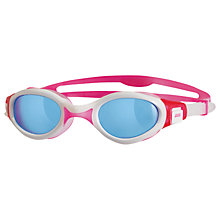 Buy Zoggs Venus Swimming Goggles, Pink/White Online at johnlewis.com