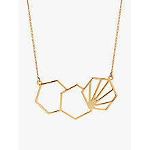 Buy Rachel Jackson London 3 Hexagon Necklace Online at johnlewis.com