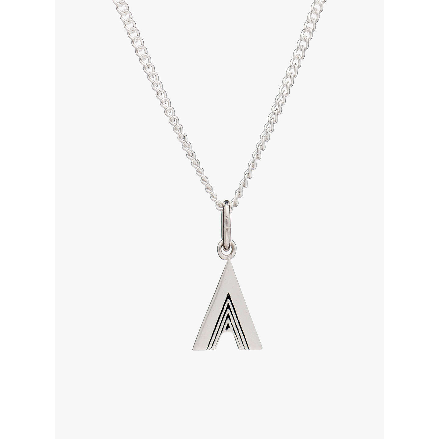initial letter diamond c pendant necklace gold