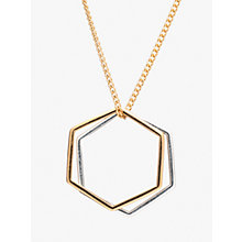 Buy Rachel Jackson London Hexagon Rings Necklace Online at johnlewis.com