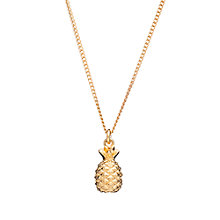 Buy Rachel Jackson London Small Pineapple Pendant Necklace Online at johnlewis.com