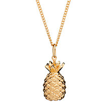 Buy Rachel Jackson London Long Pineapple Pendant Necklace Online at johnlewis.com