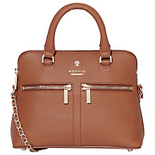 Buy Modalu Pippa Leather Chain Across Body Bag Online at johnlewis.com