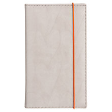 Buy Caroline Gardner Hearts Travel Wallet, Grey Online at johnlewis.com