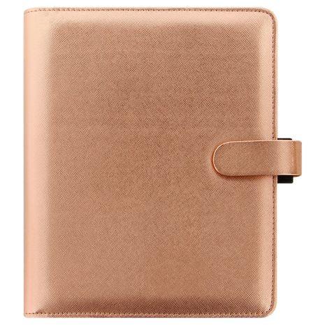 Filofax Filofax Saffiano Special Edition A5 Personal Organiser, Rose Gold
