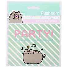 Buy Pusheen Party Invitations, Pack of 8 Online at johnlewis.com