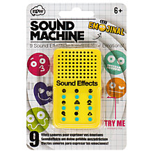 Buy Emojinal Sound Machine Online at johnlewis.com