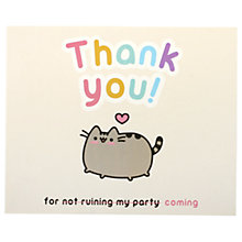 Buy Pusheen Thank You Notecards, Pack of 8 Online at johnlewis.com