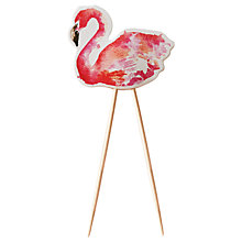 Buy Ginger Ray Flamingo Cake Toppers, Pack of 8 Online at johnlewis.com