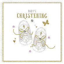 Buy Baby's Christening Card Online at johnlewis.com