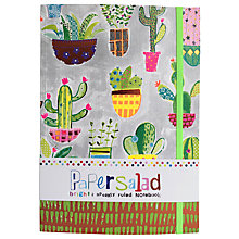 Buy Paper Salad Cactus A5 Notebook Online at johnlewis.com