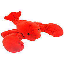 Buy John Lewis Coastal Lobster Pencil Case, Red Online at johnlewis.com