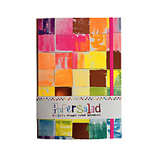 Buy Paper Salad Colour Block A5 Notebook Online at johnlewis.com