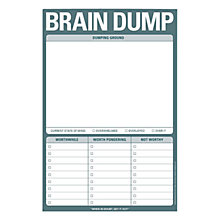 Buy Knock Knock Brain Dump Notepad Online at johnlewis.com