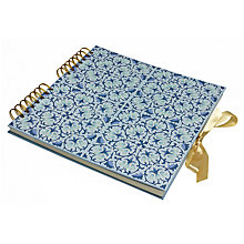 Buy Liberty Fabrics & John Lewis Lodden Square Photo Album Online at johnlewis.com