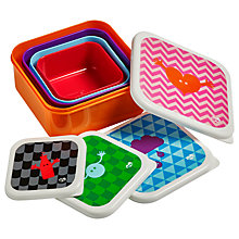 Buy Tinc Geometric Snack Boxes, Set Of 4 Online at johnlewis.com
