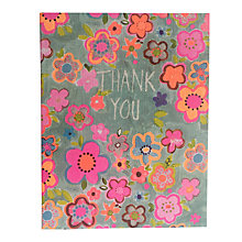 Buy Paper Salad Floral Thank You Notecards, Pack of 5 Online at johnlewis.com
