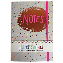 Buy Paper Salad Stars Notes A5 Notebook Online at johnlewis.com