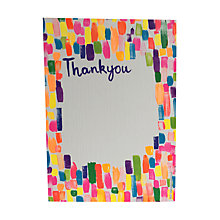 Buy Paper Salad Neon Ink Thank You Notecards, Pack of 6 Online at johnlewis.com